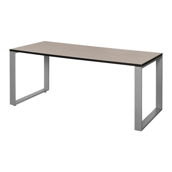 Regency Structure 66 in. x 30 in. Maple/Grey Training Table