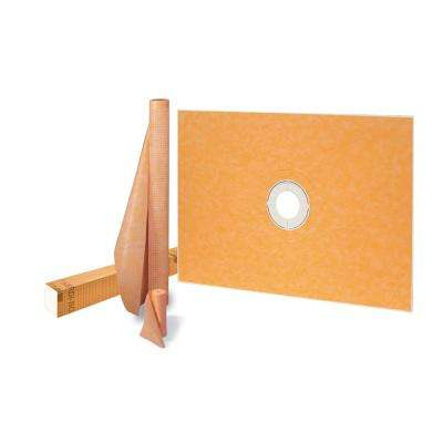 Kerdi-Shower-Kit 38 in. x 60 in. Shower Kit without Drain