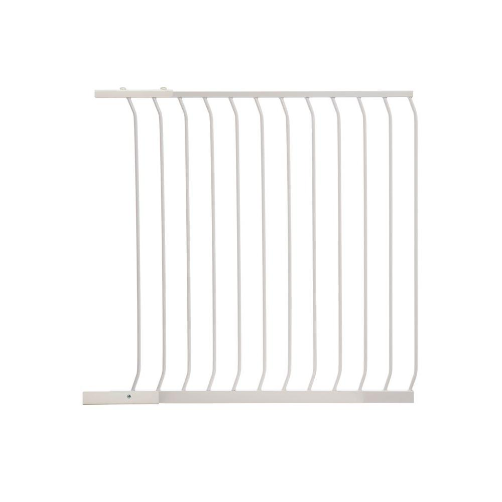 Dreambaby 39 in. Gate Extension for White Chelsea Extra Tall Child Safety Gate
