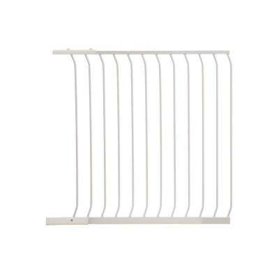 39 in. Gate Extension for White Chelsea Extra Tall Child Safety Gate