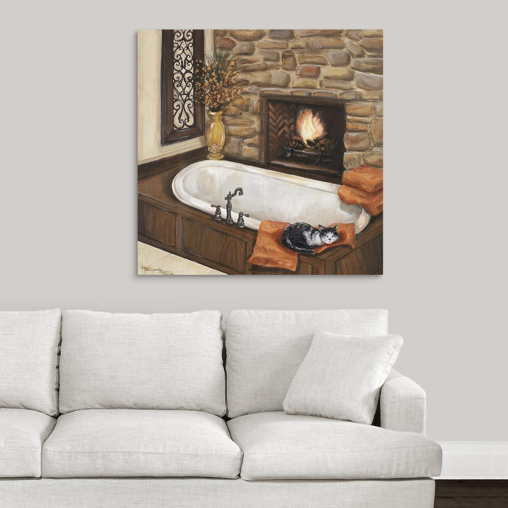 Fireplace Escape I by Great BIG Canvas Canvas Wall Art, M...