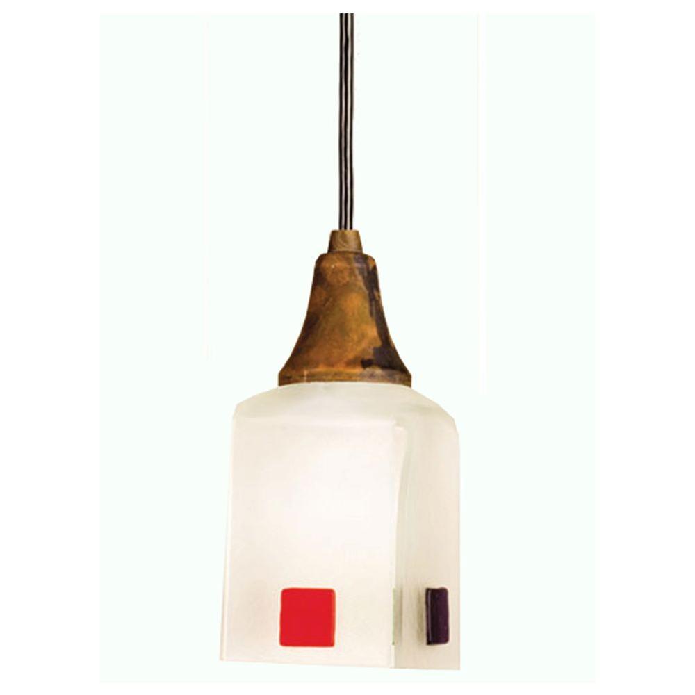Illumine 1 Light Draped Fused Pendant