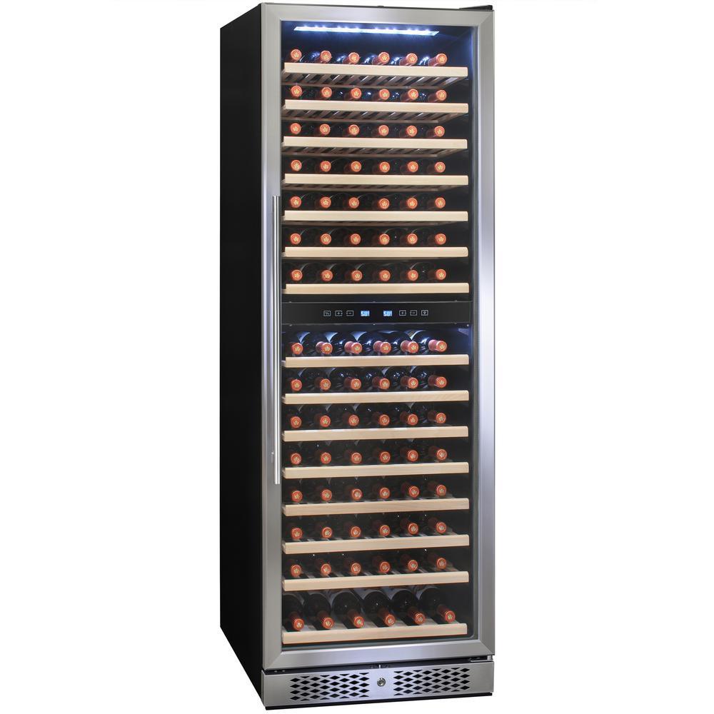 23.5 in. 160 Bottle Built-in Compressor Wine Cooler