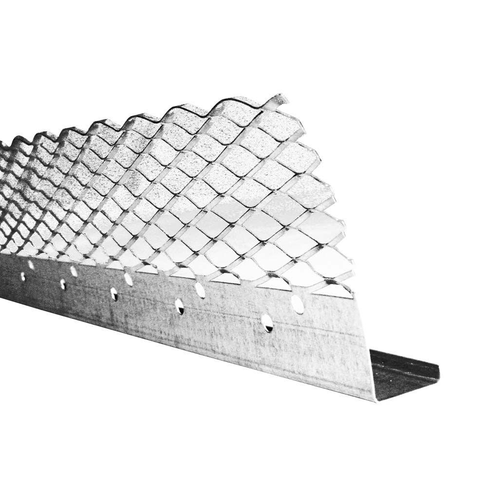 1/2 in. x 10 ft. Galvanized Steel Casing Bead