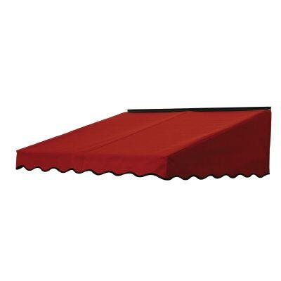 NuImage Awnings 3 ft. 2700 Series Fabric Door Canopy (19 in. H x 47 in. D) in Terra Cotta