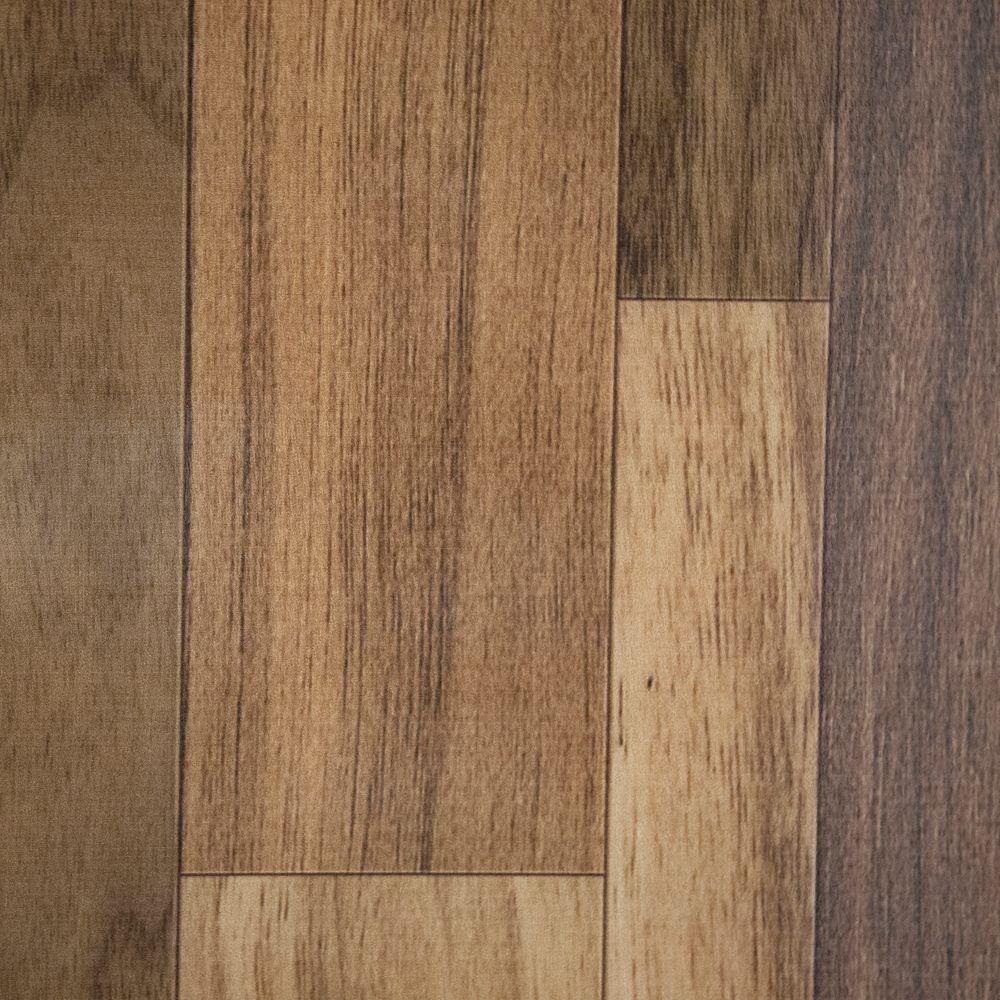 HDX Take Home Sample - Natural Walnut Vinyl Universal Flooring - 8 in. x 10 in.