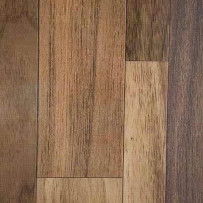 Take Home Sample - Natural Walnut Vinyl Universal Flooring - 8 in. x 10 in.