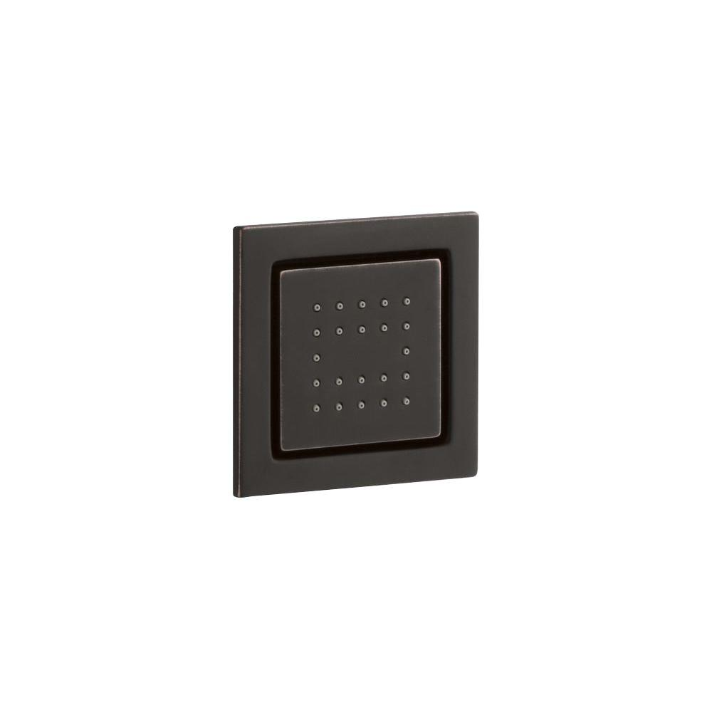 KOHLER WaterTile 1-Way Square Body Sprayer in Oil Rubbed Bronze