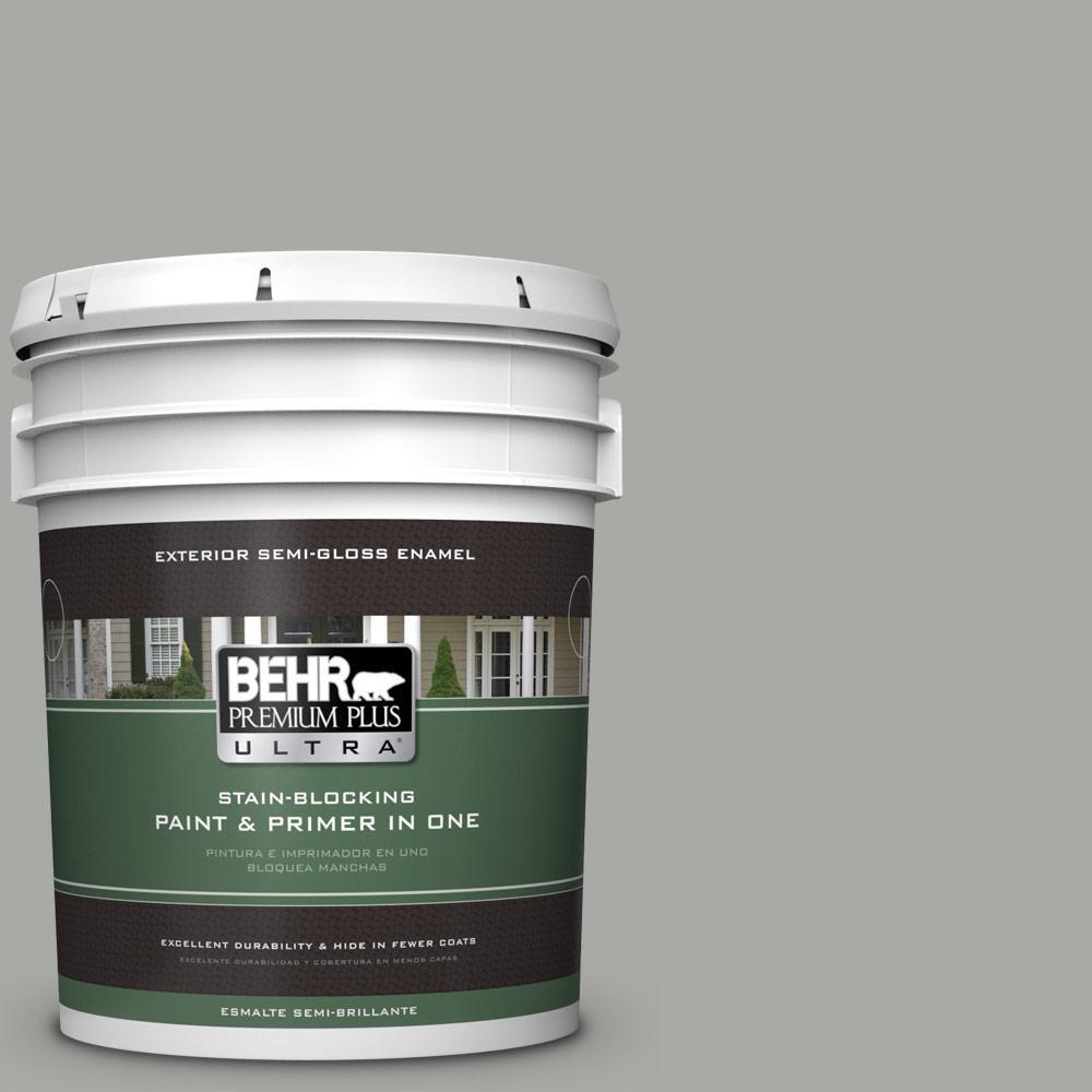 5 gal. #PPU25-15 Flipper Semi-Gloss Enamel Exterior Paint