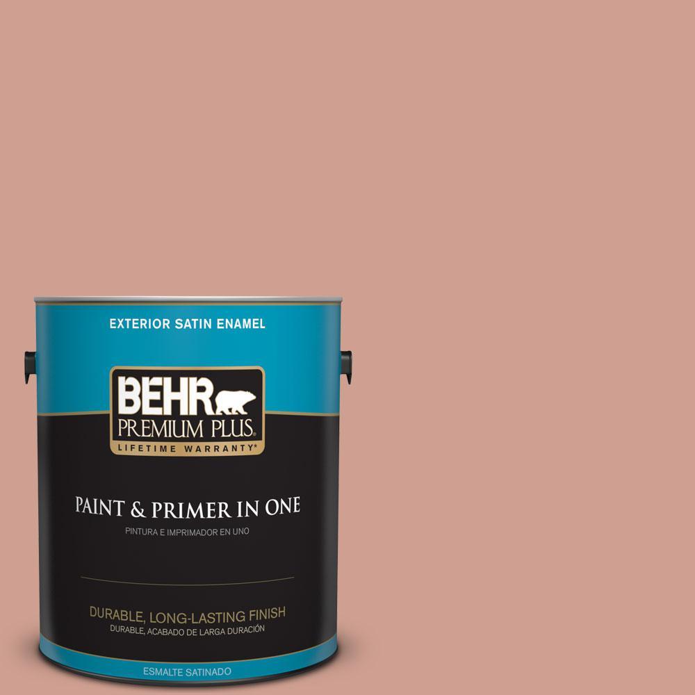 BEHR Premium Plus 1-gal. #S180-4 Shiny Kettle Satin Enamel Exterior Paint