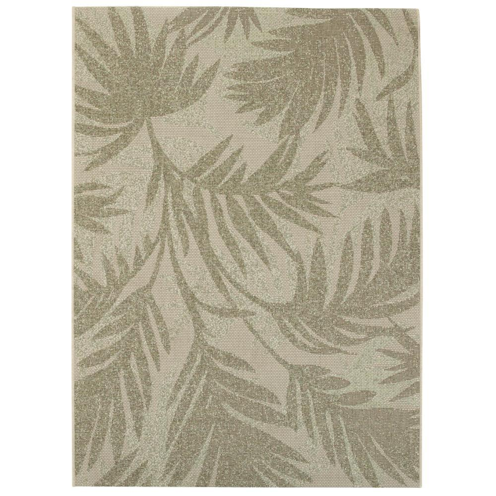 Home Decorators Collection Seafarer Green 9 ft. x 13 ft. ...