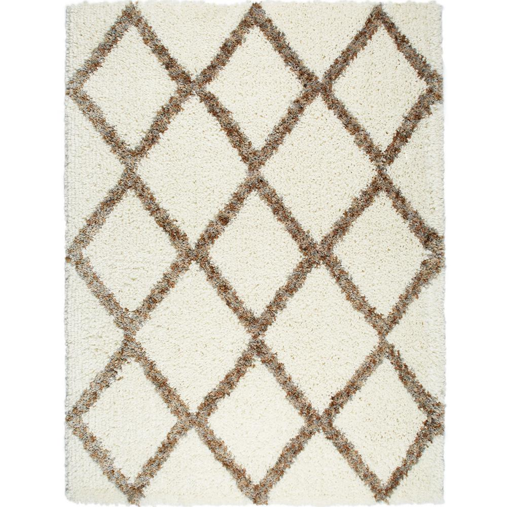 Home Dynamix Amsterdam Shaggy Ivorybeige 5 Ft 3 In X 7 Ft 2 In