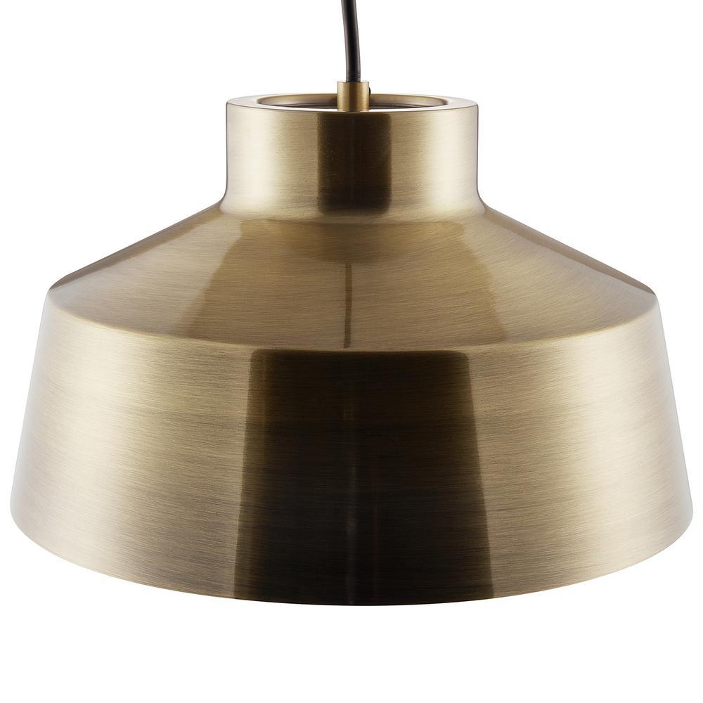 Southern Enterprises Trea 1-Light Bronze Pendant Lamp was $79.99 now $36.22 (55.0% off)
