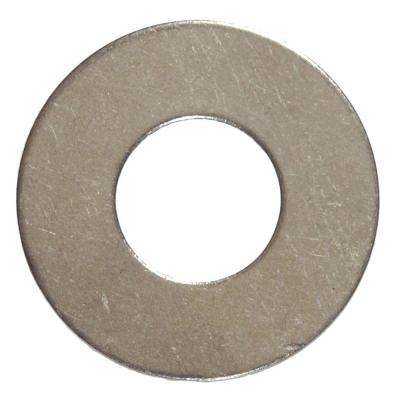 1/4 in. Stainless Steel Flat Washer (10-Pack)