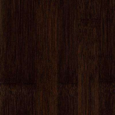 Take Home Sample - Horizontal Havanna Coffee Solid Bamboo Flooring - 5 in. x 7 in.