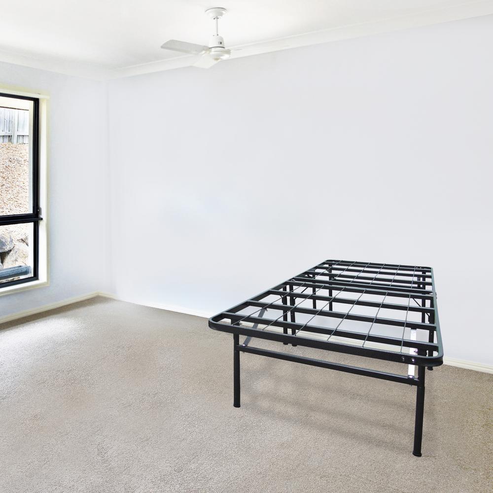 biopedic infiniflex queen metal bed frame 45213 the home depot. Black Bedroom Furniture Sets. Home Design Ideas