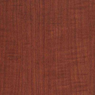 3 in. x 5 in. Laminate Countertop Sample in Versailles Anigre with Premium Textured Gloss Finish