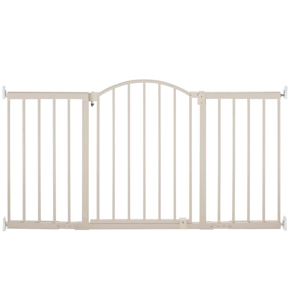 null 6 ft. Metal Expansion Gate Wide Walk