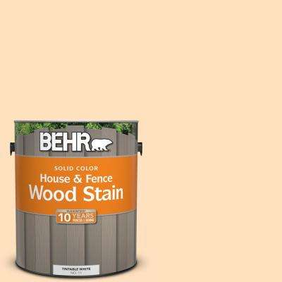 1 gal. #310C-2 Orange Glow Solid Color House and Fence Exterior Wood Stain