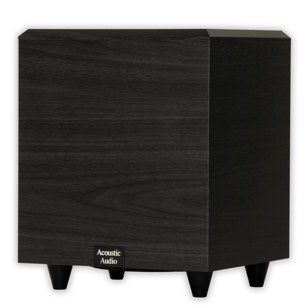 Acoustic Audio by Goldwood Home Theater Powered 6.5 in. Subwoofer 250-Watt Surround