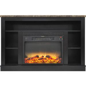Cambridge 47 In Electric Fireplace With Enhanced Log
