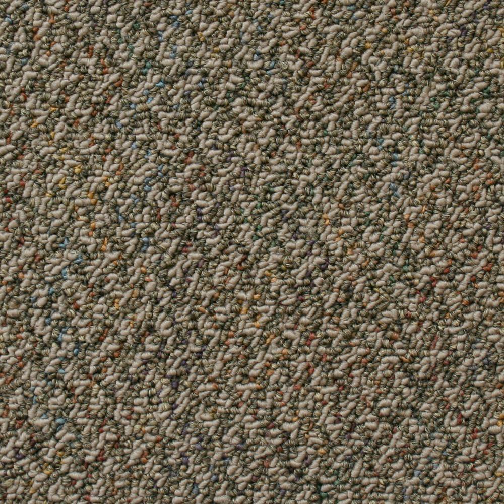 KRAUS Carpet Sample Sky Rocket Color Cafe Au Lait Loop