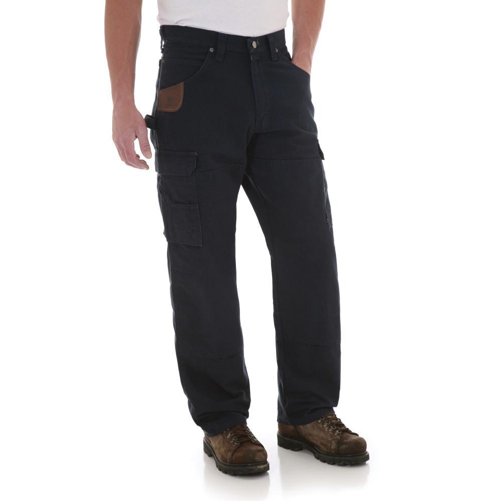 Men's Size 36 in. x 32 in. Navy Ranger Pant