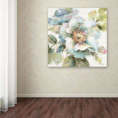 """35 in. x 35 in. """"Country Bloom VII"""" by Lisa Audit Printed Canvas Wall Art"""