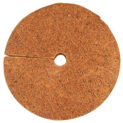 6 in. Coconut Fiber Mulch Tree Ring Protector Mat (20-Pack)