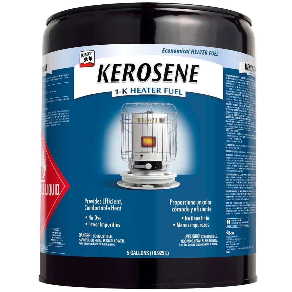 Klean Strip 5 Gal 1 K Kerosene Cke83 The Home Depot
