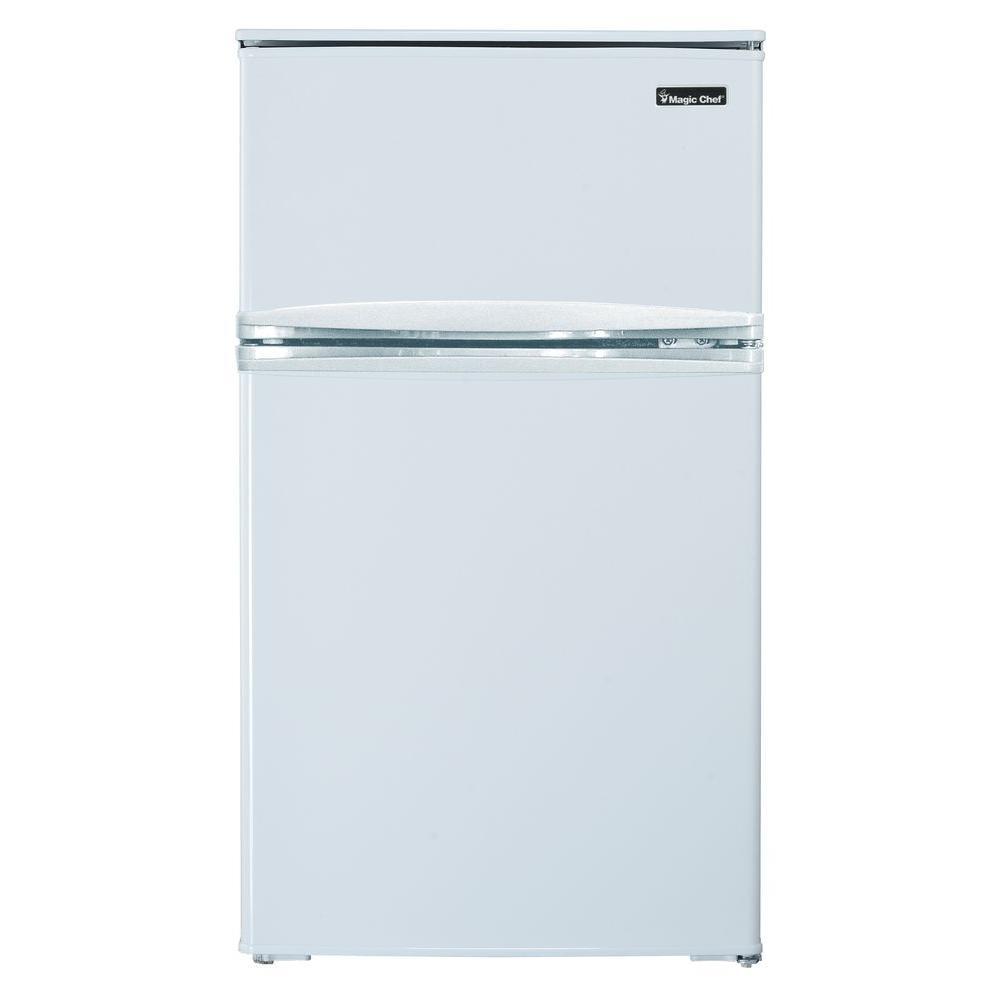 Magic Chef 3 1 Cu Ft Mini Refrigerator In White