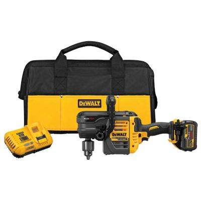 FLEXVOLT 60-Volt MAX Lithium-Ion Cordless Brushless 1/2 in. Stud and Joist Drill with Battery 2Ah, Charger and Bag