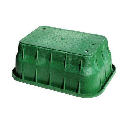 Pro Series 13 in. x 24 in. x 12 in. Valve Box and Bolt-Down Cover - ICV