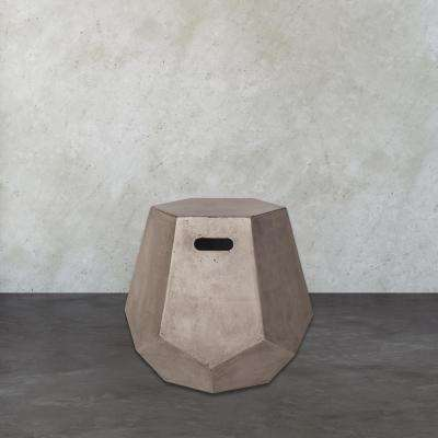 Delana Waxed Concrete Side Table