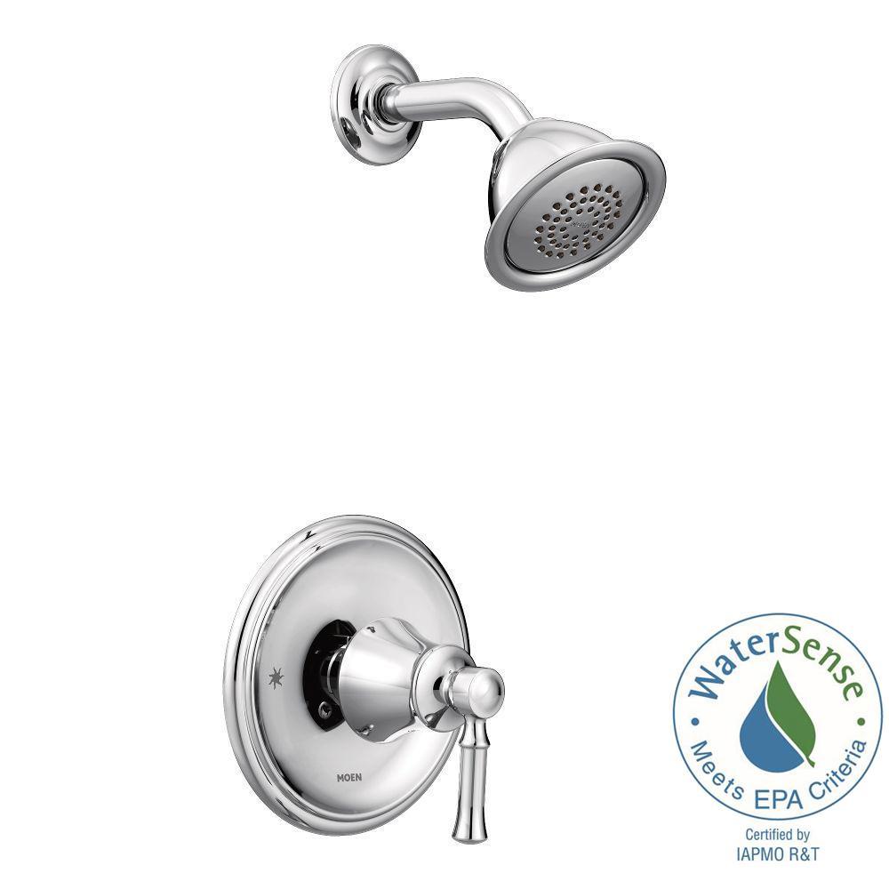 Dartmoor Posi-Temp WaterSense 1-Handle Wall-Mount Shower Only Faucet Trim Kit in