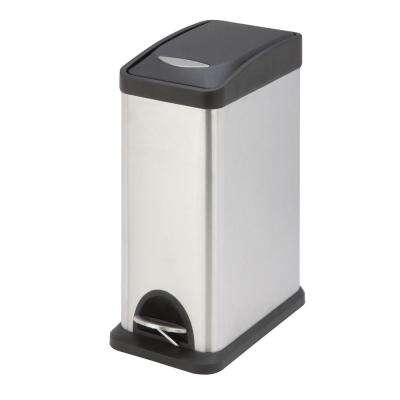 2.1 Gal. Rectangular Step Trash Can