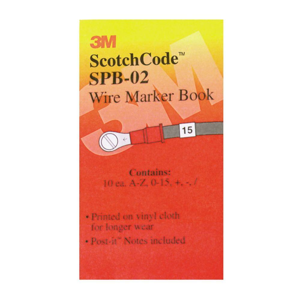 Pre-Printed Wire Marker Book (0-15)