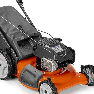 LC121P Walk Behind Push Lawn Mower w/ 21 Inch Cutting Width & Bagger