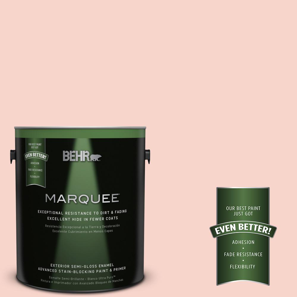 BEHR MARQUEE 1-gal. #P180-1 Deco Shell Semi-Gloss Enamel Exterior Paint