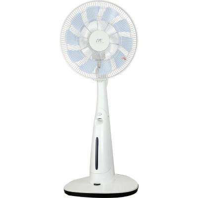 2474.5 CFM 7-Speed 14 in. DC-Motor Indoor Portable Misting Fan for 100 sq. ft.