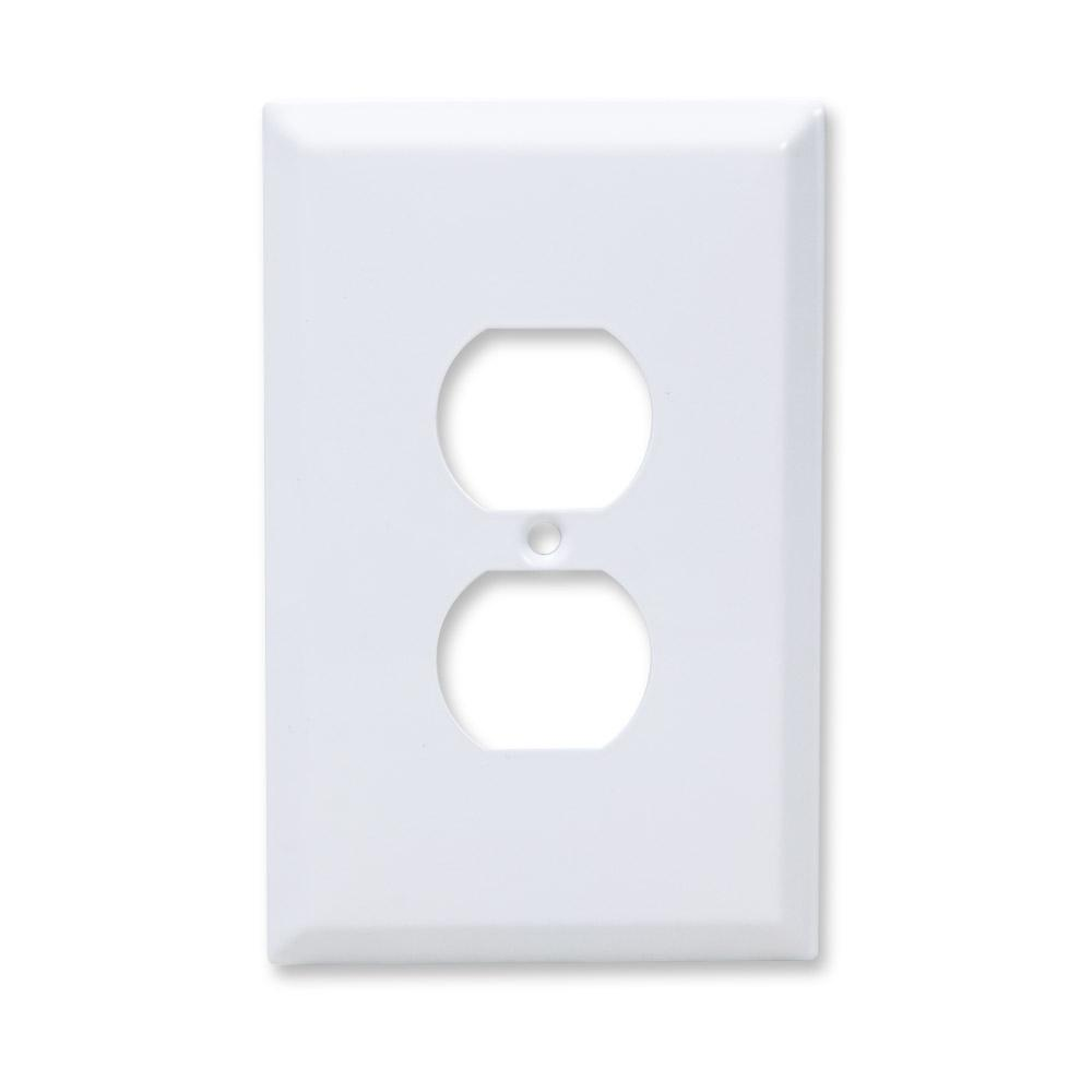 Taymac 1 gang jumbo decorator wall plate white 20 pack wjw d taymac 1 gang jumbo decorator wall plate white 20 pack amipublicfo Image collections