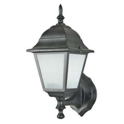 O'Donnell 1-Light Black Outdoor Wall Lantern