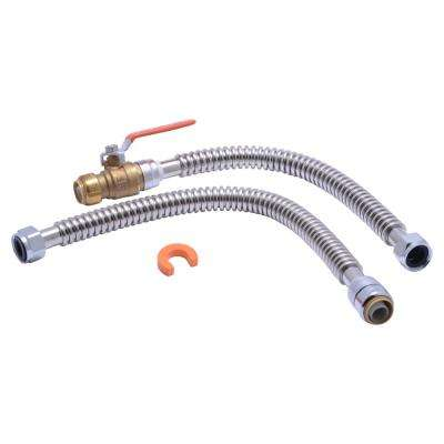 3/4 in. X 3/4 in. FIP Water Heater Connection Kit