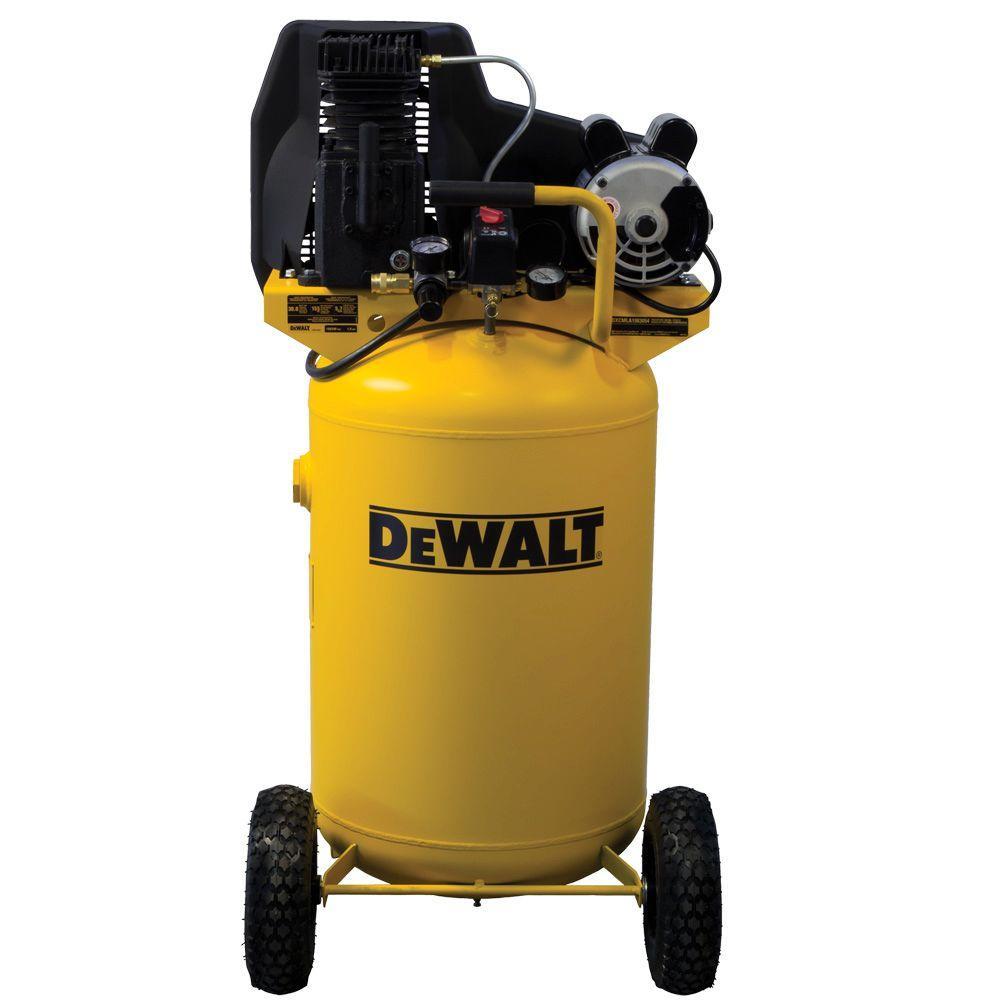 Dewalt 30 Gal Portable Vertical Electric Air Compressor