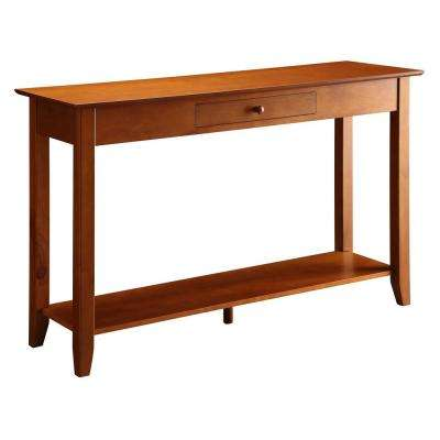 American Heritage Cherry Console Table