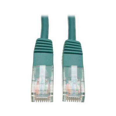 Cat5e 350MHz Molded Patch 7 ft. Cable (RJ45 M/M), Green