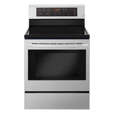 LG Electronics 2 0 cu  ft  Over the Range Microwave in Stainless Steel with  Sensor Cook