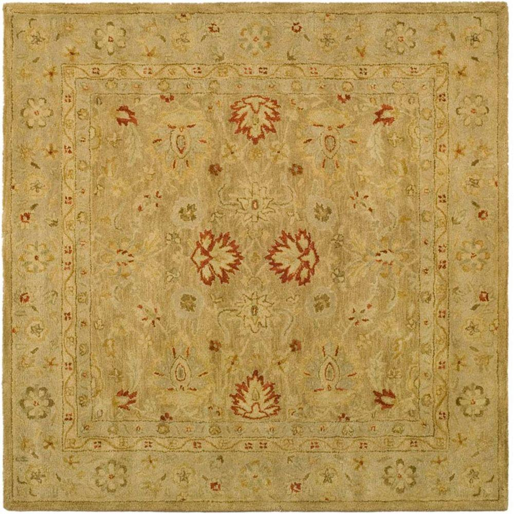 Safavieh Antiquity Brown Beige 4 Ft X Square Area Rug
