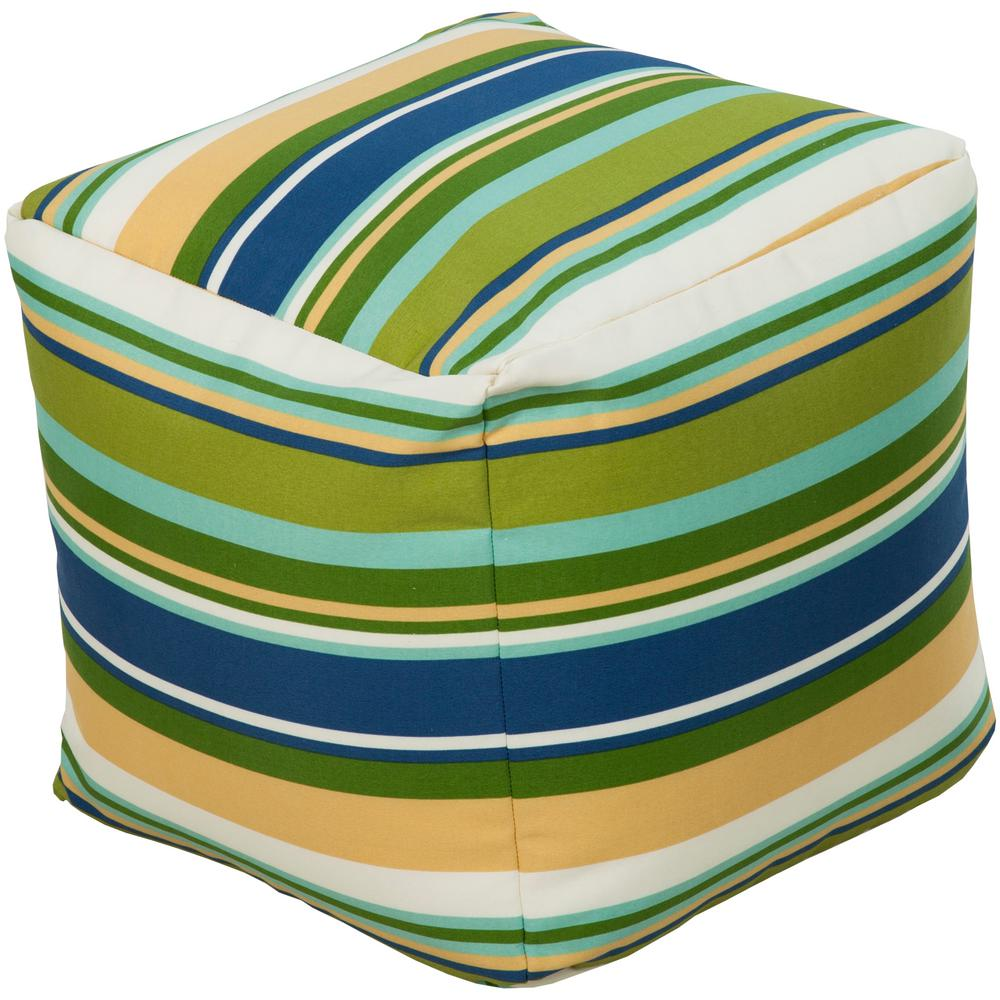 Canistien Accent Pouf in Blue