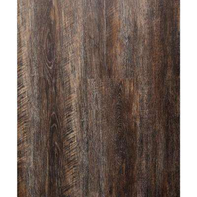 Umber Oak 5.91 in. x 48 in. HDPC Floating Vinyl Plank Flooring (19.69 sq. ft. per case)